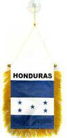 Wholesale Lot 3 Honduras Mini Flag 4x6 Window Banner W/ Suction Cup