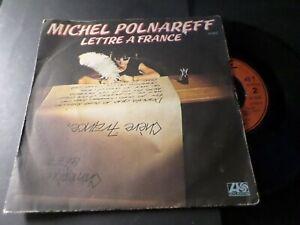 POLNAREFF-VINYLE-45-TOURS-LETTRE-A-FRANCE-VINYL-VINTAGE