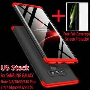 Shockproof-Slim-Hybrid-Case-Cover-For-Samsung-Galaxy-Note-9-8-S9-S10-Plus-S10-5G
