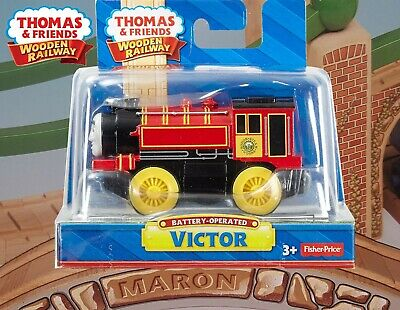 BNIB Battery operated VICTOR from THOMAS /& Friends Wooden Railway