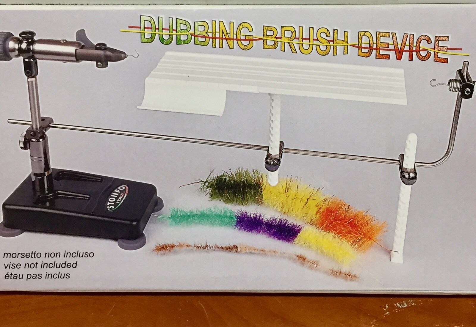 STONFO DUBBING  BRUSH DEVICE. CREATE YOUR OWN BRUSHES. NEW. TABLE.  great selection & quick delivery