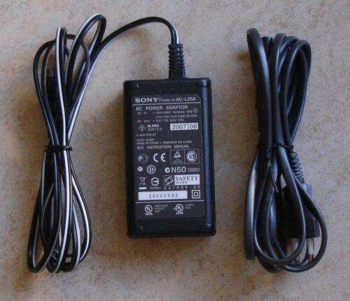 Original Sony alimentation du chargeur ac-l25b ac-l25a ac-l25
