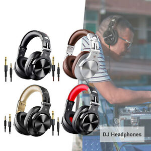 A70 Over-Ear DJ Bluetooth Headphone Headsets for Studio Monitoring Mixing