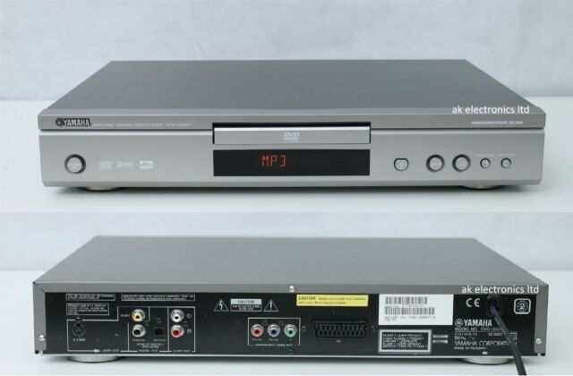 4cd7ee0ad Yamaha DVD-S540 Natural Sound Silver DVD Player MP3 DTS