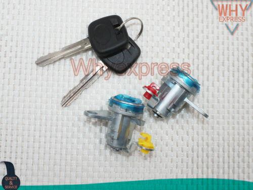 NEW Door Lock Cylinder Tumbler SET For 1996-2000 Toyota RAV4