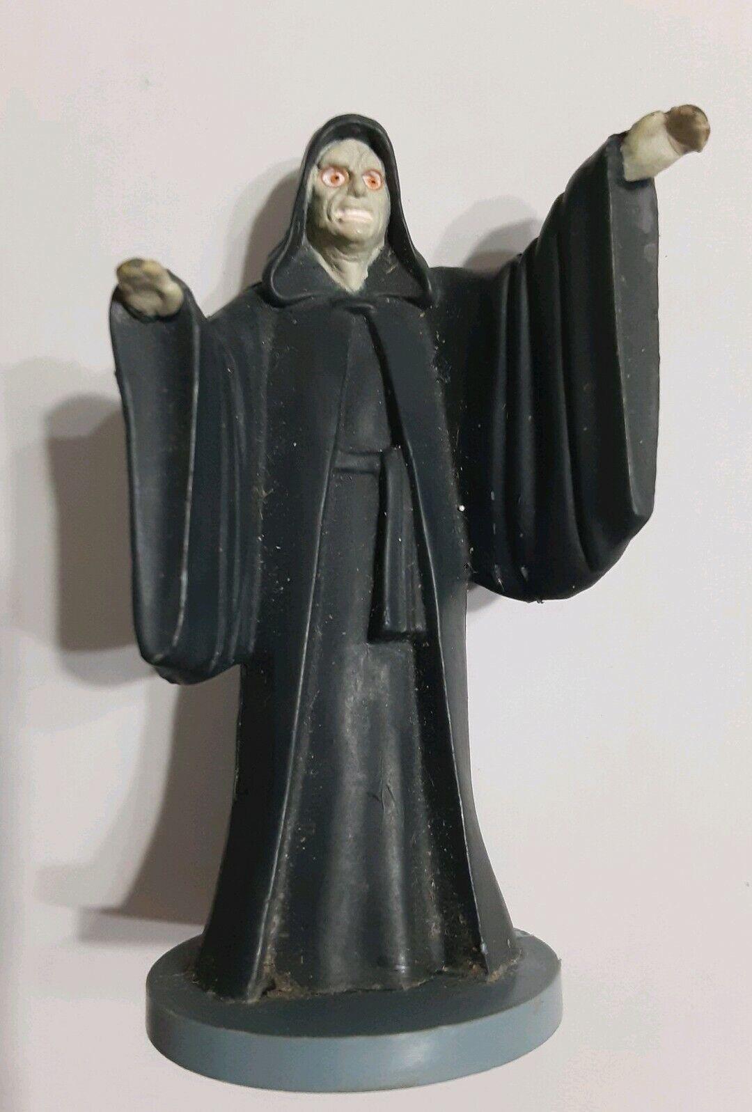 StarWars figurine : Star Wars EMPEROR PALPATINE Cake Topper Figurine  Applause 1996