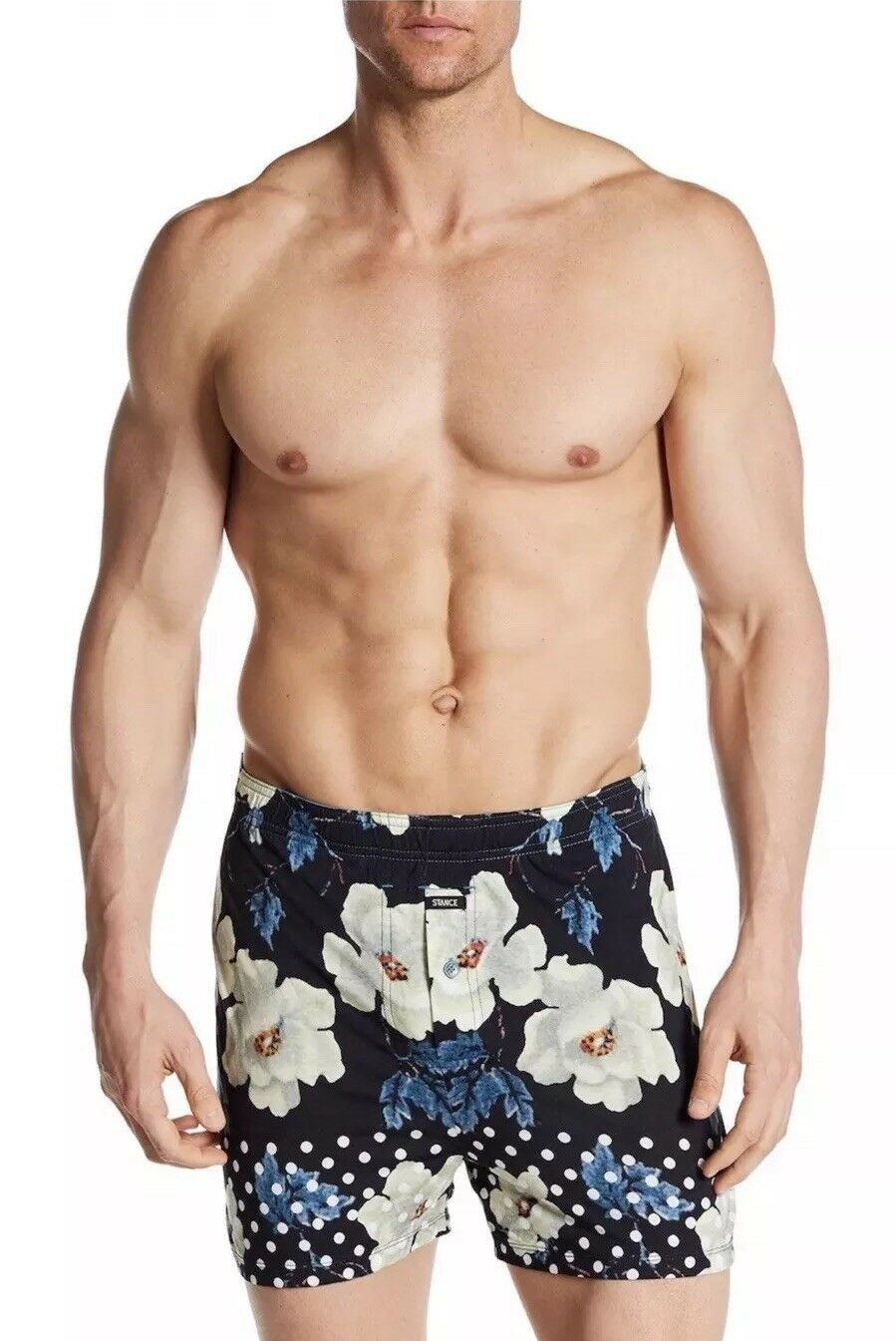 NEW Stance Floral Garden Modal Blend Knit Boxer  - The Mercato - Small