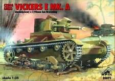 VICKERS E MK A - (POLISH & FINNISH ARMY MARKINGS, 1939) 1/35 RPM panzer