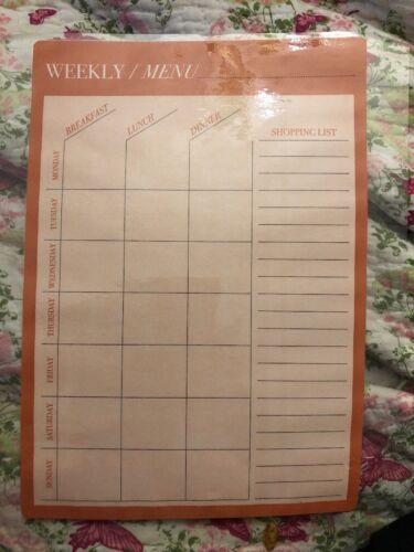 Feuilleté hebdomadaire Meal Planner et liste de courses 19