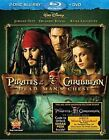 Pirates of The Caribbean Dead Man's C 0786936812572 With Johnny Depp Blu-ray