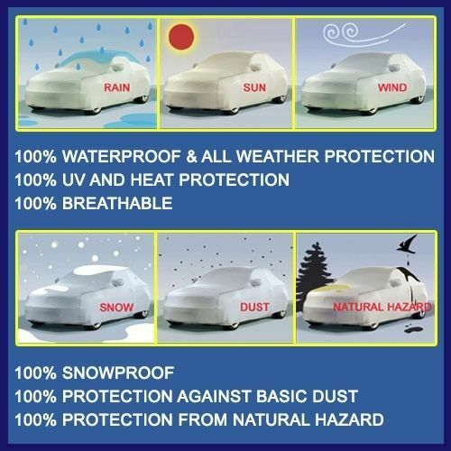 CAR COVER Custom Fit Platinum Outdoor Weather Protection *Lifetime Warranty*