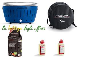 BBQ-Barbecue-LotusGrill-Lotus-Grill-XL-OMAGGIO-Kg-2-5-carbonella-e-2-gel-comb