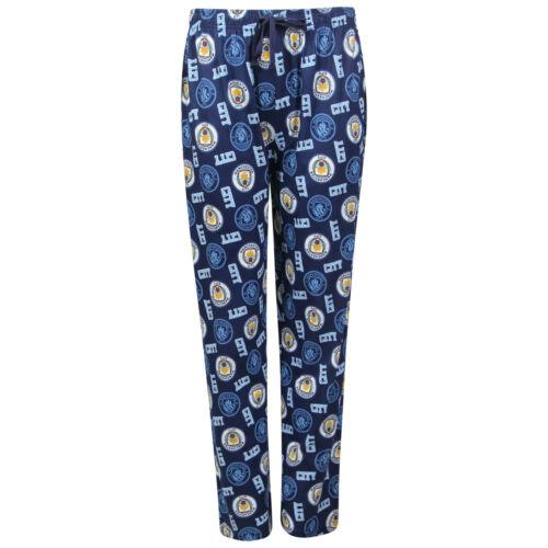 Mens Football Lounge Pants Man City Liverpool LFC Pyjamas Trousers Bottoms