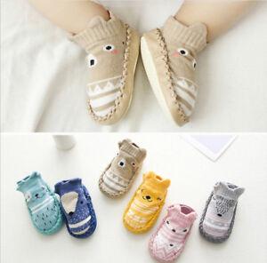 the latest 77aed edf95 Details zu Baby Schuhe Socken neugeborene Newborn Mädchen Rutschfest  Söckchen Socken