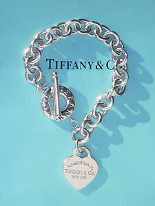 Image is loading Tiffany,amp,Co,Return,To,Tiffany,Sterling,Silver,