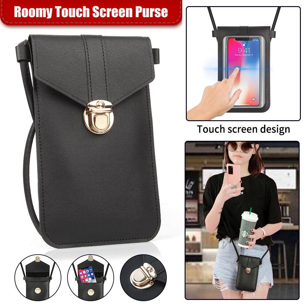 Small Cross-body Cell Phone Case Women Shoulder Bag Pouch Handbag Purse Wallet