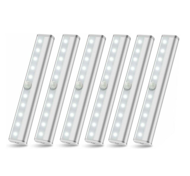6 Pack Wireless Led Puck Lights Remote