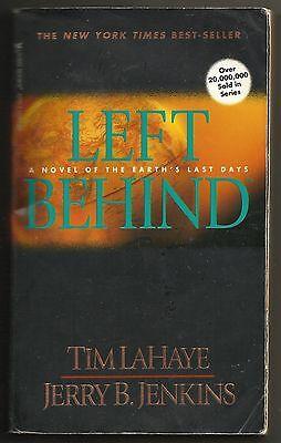 Vintage 1995 Left Behind Vol 1 Earth's Last Days Tim Lahaye Jerry Jenkins Book