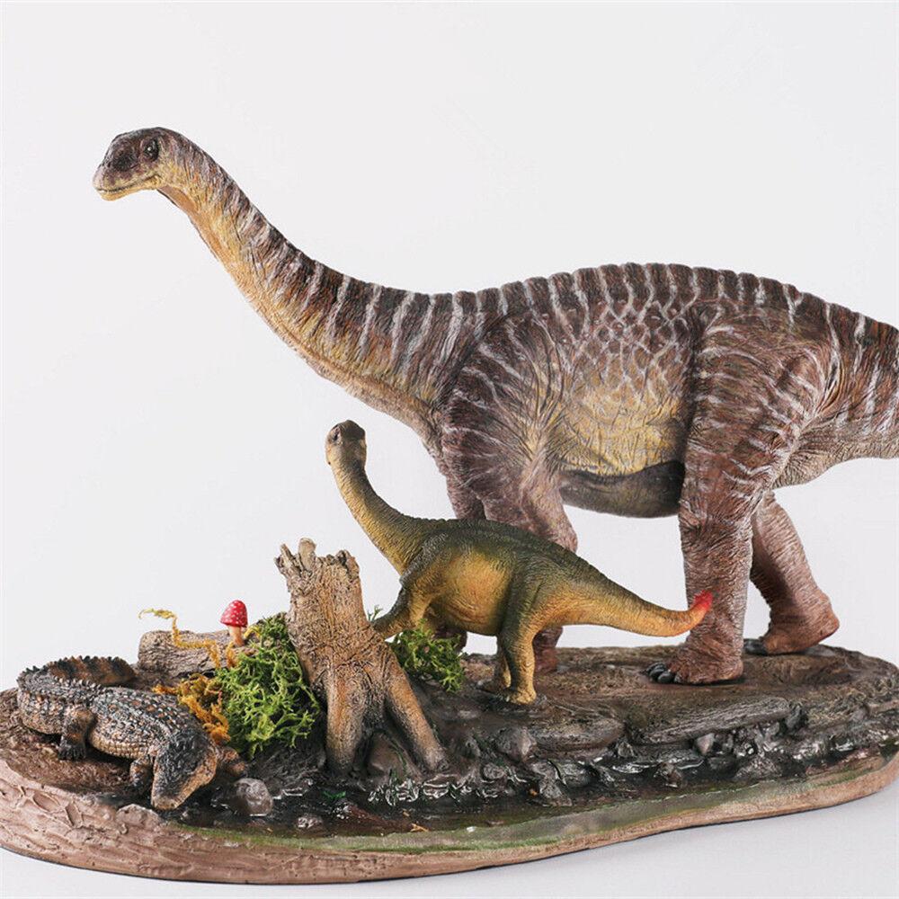 Famiglia shunosaurus GK Resina Statua cifra  Dinosauro modellolo Giocattolo Da Collezione Decor  risposte rapide
