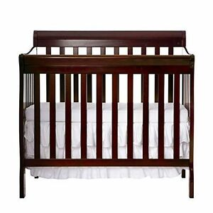 Dream On Me 4 In 1 Aden Convertible Mini Crib Espresso 628 E