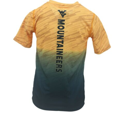 West Virginia Mountaineers Official NCAA Kids Youth Size Athletic T-Shirt New