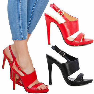 Liberale Scarpe Donna Cinturino Decollete Eleganti Sandali Tacchi Alti Toocool P5l6840-13 Conveniente Da Cucinare