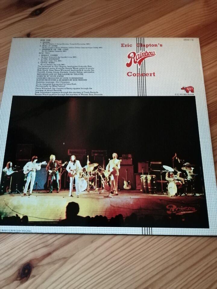 LP, Eric Clapton, Eric Claptons Rainbow Concert