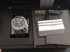 Porsche Design P'6750 Worldtimer, Titan, Neuware mit Box und Papieren UVP 11740€