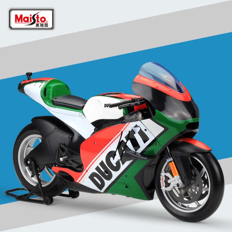 barato Nuevo 1 6 6 6 Maisto escala 2011 Ducati Desmosedici Juguetes Modelo Diecast moto de Italia  promociones emocionantes