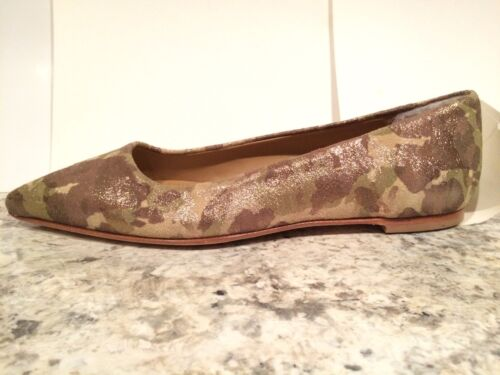 Ballet Ugg Flats Gold 5 5 Linda Camo New Camouflage Fur Collection Shimmer Italy prEar