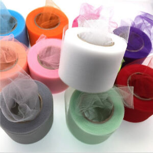 25Yard-Tutu-Tulle-Roll-Spool-Netting-Craft-Fabric-Wedding-Party-Decoration-DIY