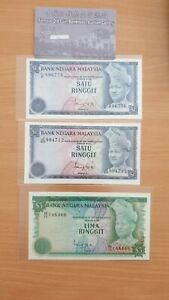 Malaysia 3rd Series 1 And 5 Ringgit