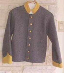 Details about Boys Confederate Cavalry Shell Jacket, Civil War, New