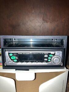 New Sanyo CD/Cassette 3 in 1 FM Radio W/Detachable Panel Model EXCD-1000