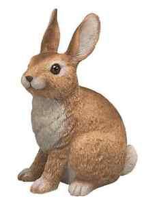 garden rabbit statue outdoor figurine sculpture decor patio yard