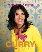 I Love Curry by Anjum Anand (Hardback, 2010)