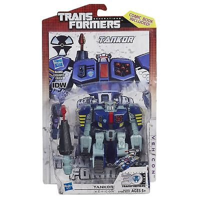 CROSSCUT Transformers Generations 30th Deluxe Class Figure IDW Comic Pack 2014
