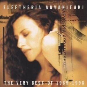 ELEFTHERIA ARVANITAKI - BEST OF 1989-98,THE VERY  CD 14 TRACKS NEU+++++++++
