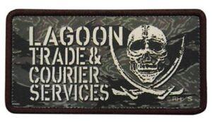 *Black Lagoon Lagoon Chamber of Commerce PVC patch