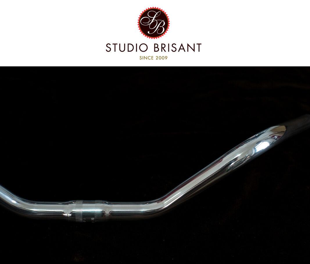 Bella Ciao Cruiser Style Riser Bar Lenker Alu silver poliert 25,4 mm Klemmung