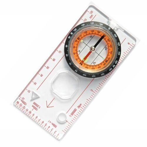 Lanyard Compass Survival Multifunction Mini Ruler Outdoor Camping Hiking