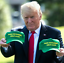 Make Our Farmers Great Again Hat Trump 2020 America Snapback Baseball Cap Green