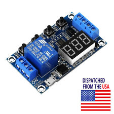 Dc 6 30v 1 Way Relay Module Power Off Trigger Delay Cycle Timer Switch Us Ship