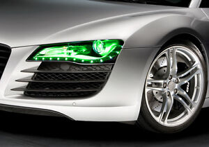 Details about VViViD Green headlight taillight tint film 5ft x 5ft vinyl  wrap decal