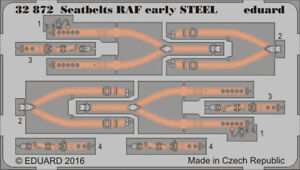 Eduard-1-32-Seatbelts-RAF-Early-Steel-Color-PE-Detail-Set-32872