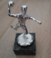 Indexbild 2 - Handball Spieler Pokal in Silber Farbe auf Marmorsockel - Metall