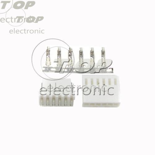 20sets KF2510-2Pin-6Pin 2.54mm Pin Header Terminal Housing Connector Kit