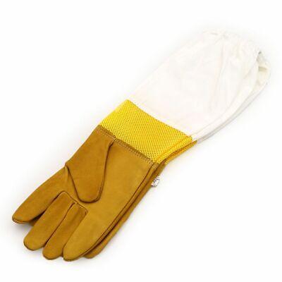 Beekeeping Gloves Keeping Sleeves XL Suit Bee Goat Keeper Vented Skin Long O4Y4