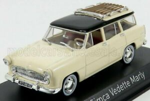 NOREV 1/43 SIMCA   VEDETTE MARLY 1957   YELLOW BLACK