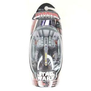 Star-Wars-Titanium-Micro-Machines-LUKE-SKYWALKER-039-S-RED-FIVE-X-WING-Brand-New